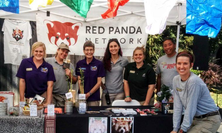 AAZK at Red Panda Day