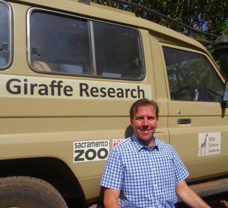 Derek with Giraffe Research Truck
