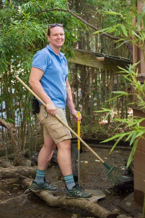 Zookeeper Christine