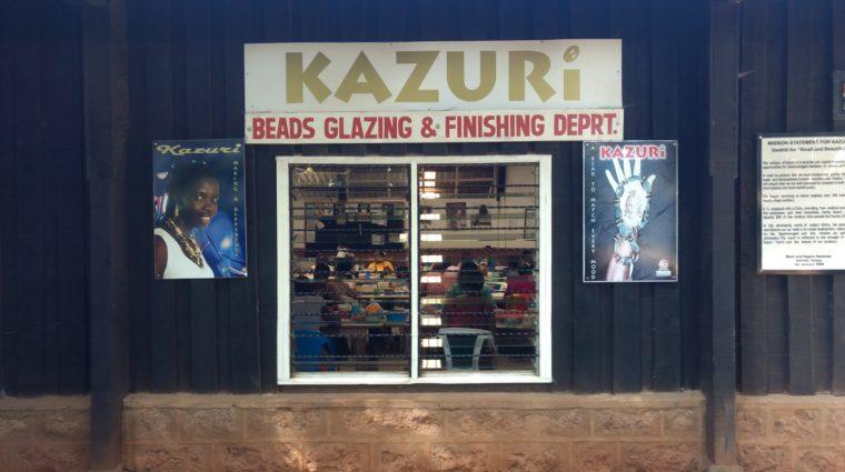 Kazuri bead shop