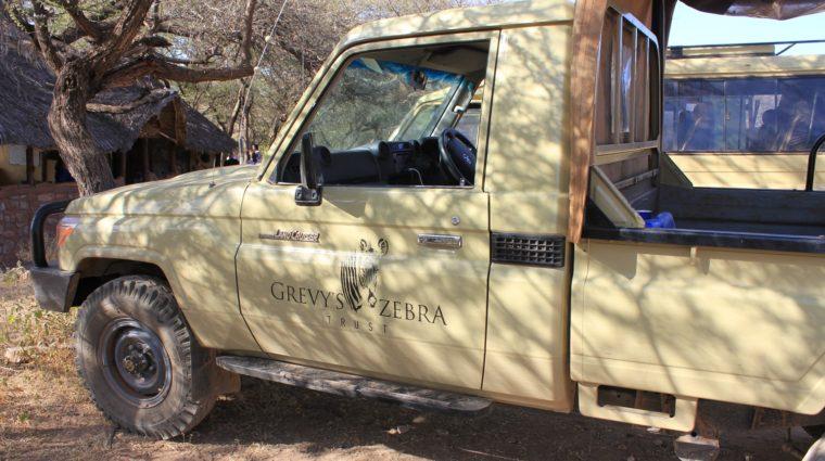 Grevy's Zebra Trust truck