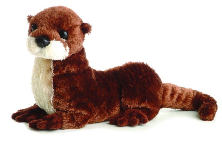 River otter plush