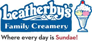 Leatherby's Family Creamery Logo