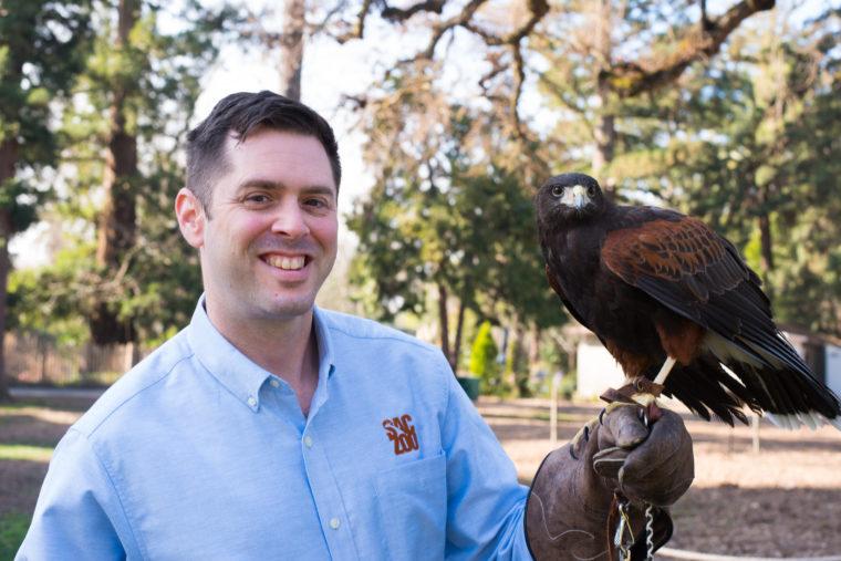 Zoo Director Jason Jacobs