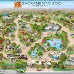 Map of the Sacramento Zoo