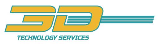 Corporate Sponsor: 3D Technology Services logo